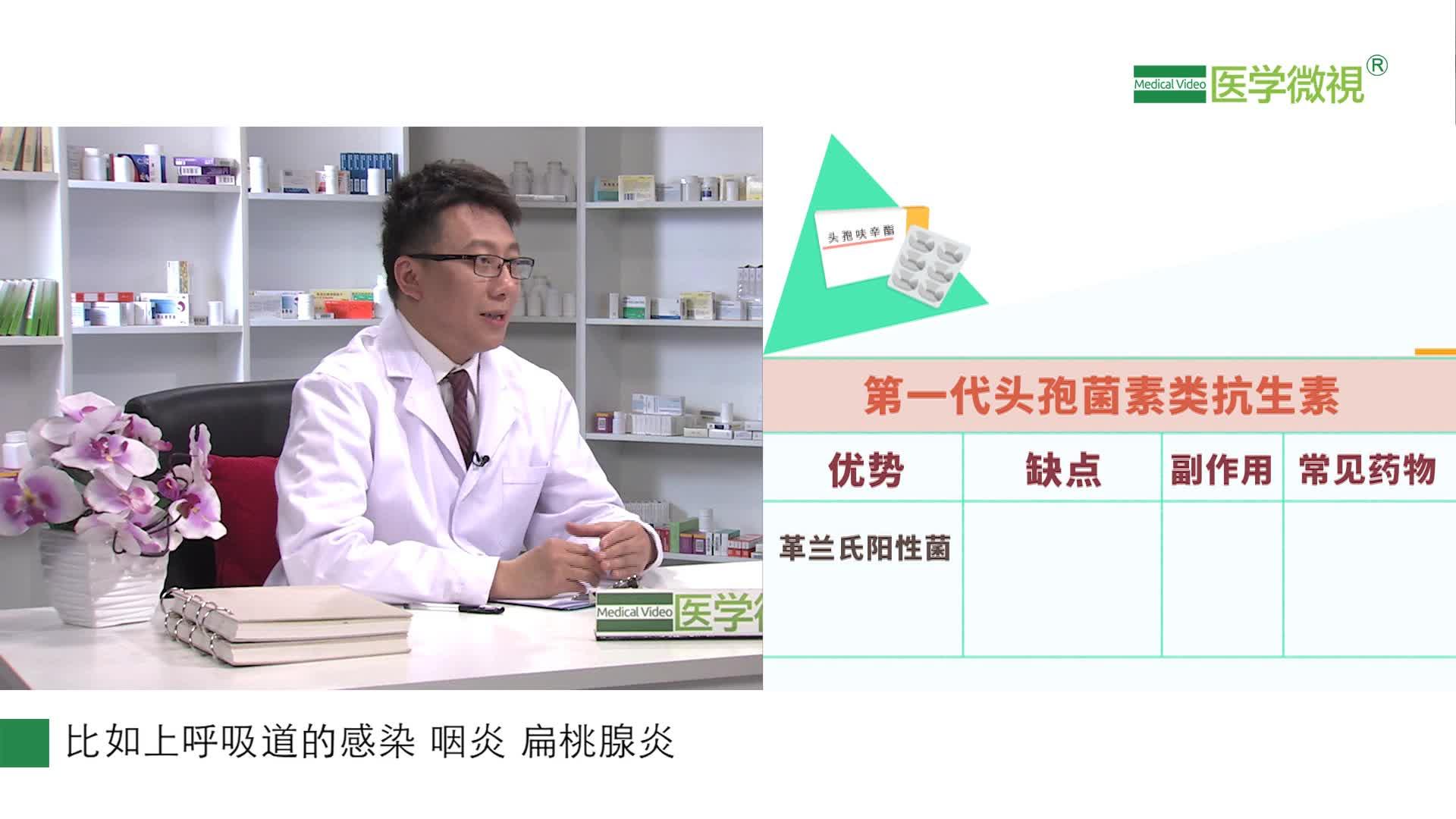 第一至五代头孢菌素类抗生素有什么区别?可以治疗尿路感染吗?